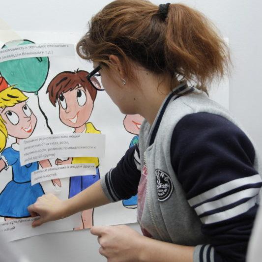Творческая работа Портрет подростка без вредных привычек и с вредными привычками